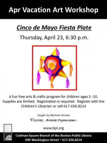 cinco de mayo plate flyer