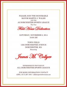 ADSL Field House Dedication | Nov. 8