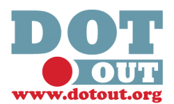 Dot Out Logo
