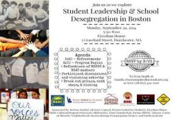 Student Leadership and School Segregation