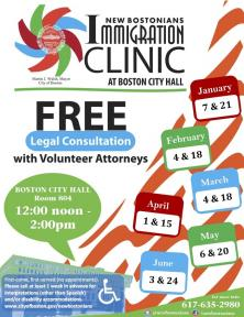 free immigration clinic info