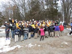 last year's MLK Day group