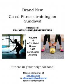 ADSL Co-Ed Fitness Training