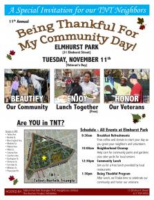 Being Thankful For My Community | Nov. 11