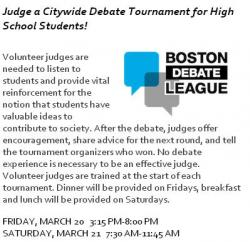 boston debate league