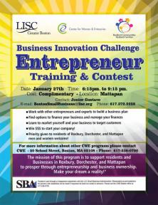 info on entrepreneur contest