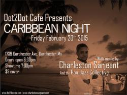 caribbean night pt 2 flyer