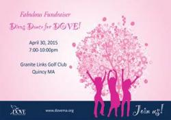dove fundraiser flyer
