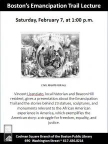 emancipation trail lecture