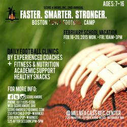 football clinics flyer