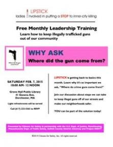 info on lipstick leadership training