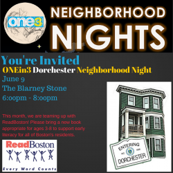neighborhood night flyer