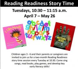 reading readiness flyer