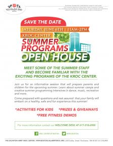 summer programs open house
