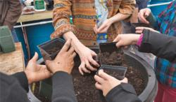 the trustees gardening photo
