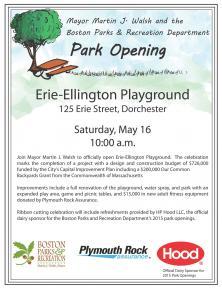 flyer for opening celebration