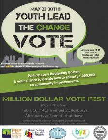 youth lead the vote flyer