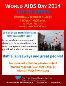 youth event world aids day