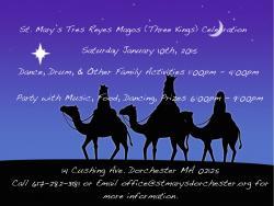 St. Mary's Tres Reyes Magos (Three Kings) Celebration