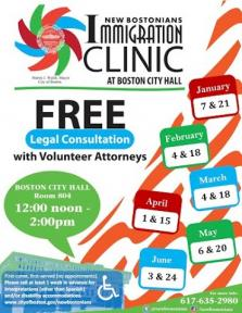 immigration clinic flyer