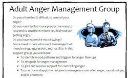 anger management group flyer