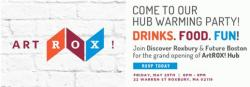 graphic for artrox hub opening