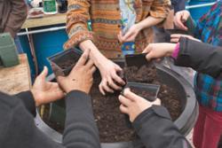 bnan gardeners gathering image