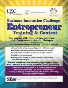 info on entrepreneur contest