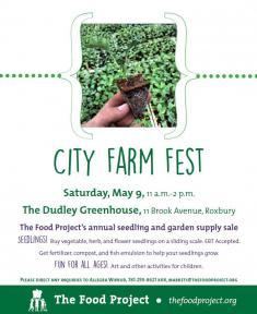 city farm fest flyer