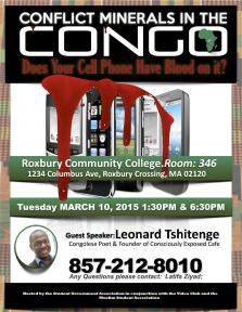 congolese plight talk flyer