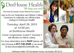dothouse health ribbon cutting event