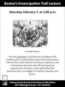 emancipation trail lecture