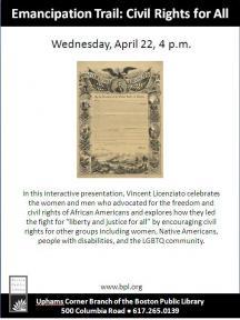 emancipation trail flyer