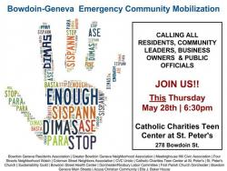flyer for emergency meeting