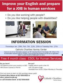 esol for human services flyer