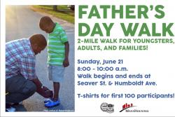 fathers day walk flyer