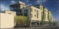 rendering of four corners plaza