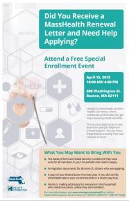 enrollment event flyer