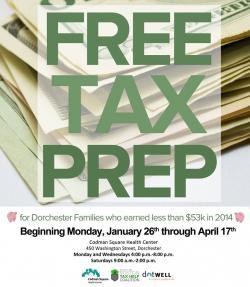 info on free tax clinic