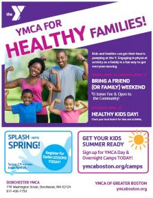 healthy families flyer