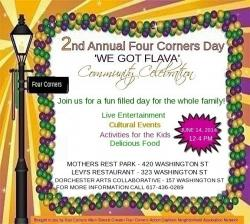 Four Corners Day flyer