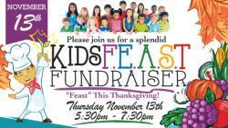 KidsFEAST Thanksgiving   Nov. 13