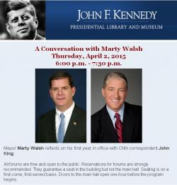 info about conversation with marty walsh