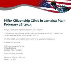 mira citizenship clinic info