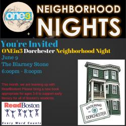 neighborhood night flyer