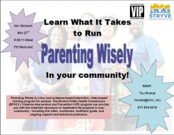 parenting wisely flyer