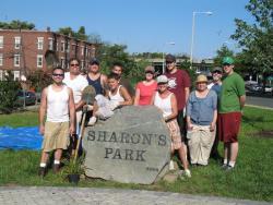 Sharon's Park crew