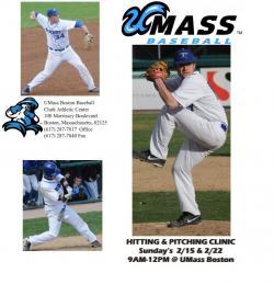 umass boston pitching clinic
