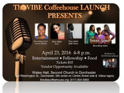 The Vibe coffeehouse launch